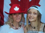 2016- JULY - ATHENS - INFORMAL CANADA DAY CELEBRATION - Photo Booth